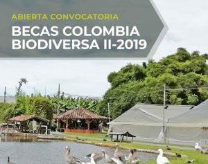 Ya está abierta la convocatoria Fondo de Becas Colombia Biodiversa II-2019